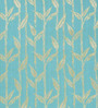 Dreamscape Blue Polyester 84 x 47 Inch Floral Eyelet Door Curtains - Set of 2