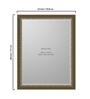 Ballans Bath Mirror in Silver by Amberville