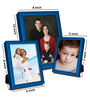 Fonsie Collage Photo Frame in Blue by CasaCraft