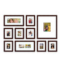Elegant Arts and Frames Red Synthetic Wood Approx. 40 x 60 Inch Collage Photo Frame