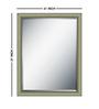 Manuela Minimalist Mirrors in Silver by CasaCraft