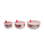 Eloisa Round Airtight Serving Bowl - Set of 3