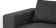 Emilio Superb LHS Sofa in Dark Grey Colour by Furny