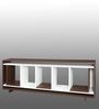 Entertainment Unit in White & Versailles Finish by Arancia Mobel