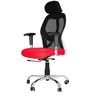 Executive Chair in Black & Red Colour by Karigar