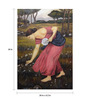 Fizdi Canvas 24 x 0.2 x 34 Inch Farming Framed Art Painting