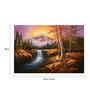 Fizdi Canvas 36 x 0.2 x 24 Inch Beauty of Nature 4 Unframed Art Painting