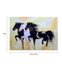 Fizdi Canvas 36 x 0.2 x 24 Inch Racing Unframed Art Painting