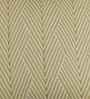 Floor and Furnishings Wheat Cotton 24 x 24 Inch Chevron Special Cushion Covers - Set of 2