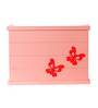 FLYFROG KIDS Butterfly Pink Wood and MDF 3 Kg Storage Box