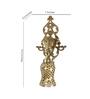 Fos Lighting  Gold Brass & Glass Wall Light