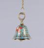 Frestol Blue Brass Mandir Bell with Chain
