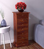 Glendale Chest of Seven Drawers in Honey Oak Finish by Woodsworth