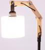 Glowbox White Fabric Study Lamp