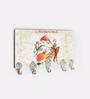 Go Hooked Multicolour MDF Ganesha Theme Key Holder