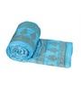 GRJ India Jaipuri Traditional Blue Cotton Ethnic Single Quilt
