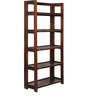 Toledo Display Unit in Provincial Teak Finish by Woodsworth