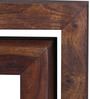 Olney Set of Tables in Provincial Teak Finish by Woodsworth