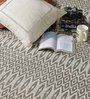 Osasco Area Rug in Beige and White by CasaCraft