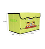 Home Creations Multi Utility Polyester Green 10 L Storage Box