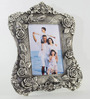 Homesake Silver Metal Single 9 x 13 Inch Photo Frame