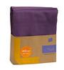 Hush Purple Cotton Bed Linen