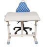 Hydraulic Study Table in Blue Colour by Child Space