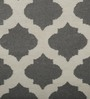 Imperial Knots Charcoal & Ivory Wool 72 x 48 Inch Carpet
