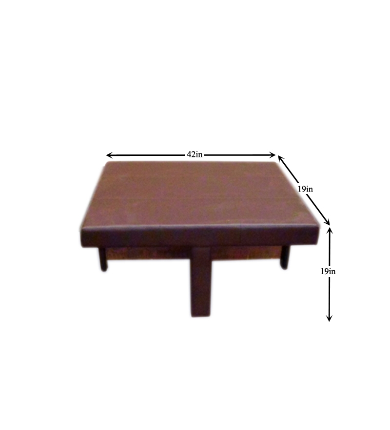 Buy Tamarind Ingenious Coffee Table With Four Storage Stools Online Rectangle Coffee Table