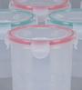 Incrizma Hi Lock Round Container - 800 Ml - Set Of 6