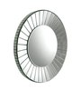 Entouch Decorative Mirror in Silver by Bohemiana