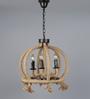 Jainsons Emporio Brown Rope Pendant