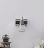 Jainsons Emporio White & Silver Aluminium & Glass Wall Mounted Light