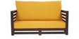 Jinjer Contemporary Sofa Set in Yellow Colour by ARRA