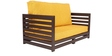 Jinjer Contemporary Two Seater Sofa in Yellow Colour by ARRA