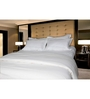 Just Linen White Cotton King Size Flat Bedsheet - Set of 5