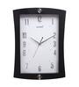 Kaiser Brown Wooden 9.8 x 1.8 x 13 Inch Wall Clock
