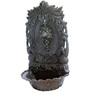 Karara Mujassme Victorian Style Cast Iron Black Fountain