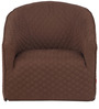 Kaya Occassional Chair in Brown Colour by @home