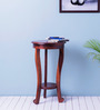 Oregon End table in Honey Oak Finish by Amberville