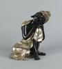 King International Royal Golden Polyresin Religious Buddha Idol Statue
