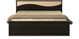 Kosmo Spin Queen Bed in Fumed Oak Finish by Spacewood