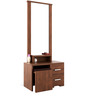 Kosmo Arena Dressing Table in Rigato Walnut Finish by Spacewood