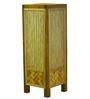 Kraftinn Annabel Beige Bamboo Floor Lamp