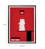 Lab No.4 - The Quotography Department Paper & PU Frame 13 x 1 x 17.5 Inch Tomorrow? Than Today Business Quote Framed Poster