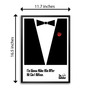 Lab No.4 - The Quotography Department Paper 12.6 x 17.3 Inch The Godfather Hollywood Movie Typography Framed Poster