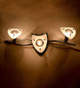 Norvin Wall Light in Transparent by Casacraft