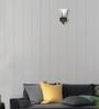 Lime Light Transparent Glass & Wood Wall Lamp