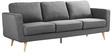 Longern Three Seater Sofa in Grey Colour by Madesos