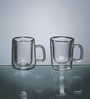 Luigi Bormioli Glass 85 ML Coffee Cup - Set of 2